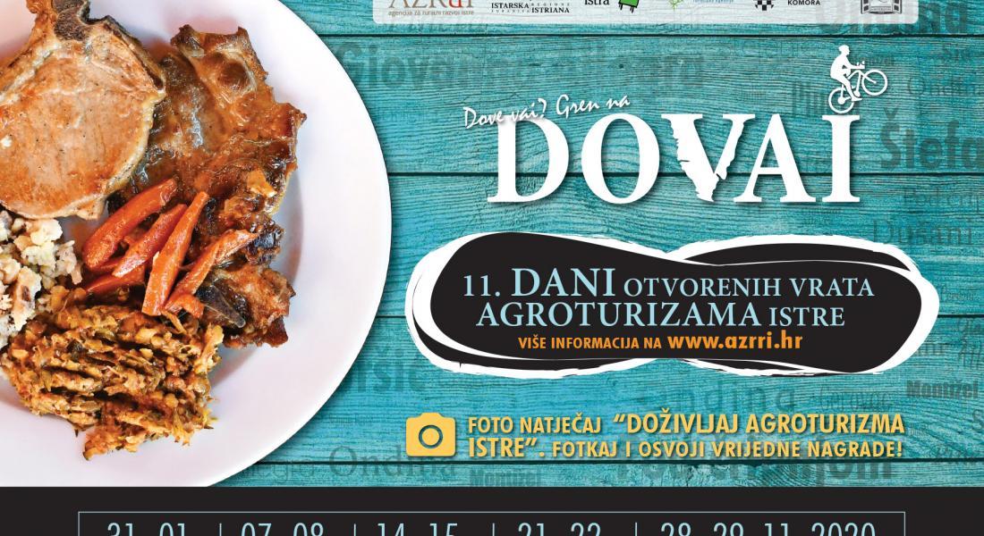 Dani otvorenih vrata Agroturizama Istre 2020